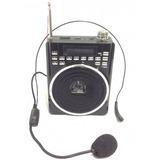 Megafono Altavoz Perifoneo Radio Usb Bluetooth