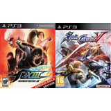 The King Of Fighters Xiii Gold Edition + Soul Calibur V Ps3