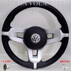 Volante Buggy Bugre Fusca Vw / Chapa Black + Cubo