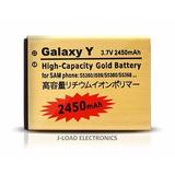 Bateria Alta Capacidad Gold 2450 Mah Samsung Galaxy Y S5360