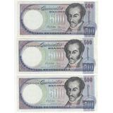 Billete 500 Bolívares Febrero 5 Del 1998 Sin Circular