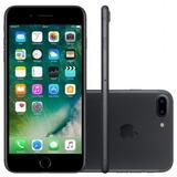 Iphone 7 Plus 32gb Desbloqueado Preto Matte 12x Sem Juros