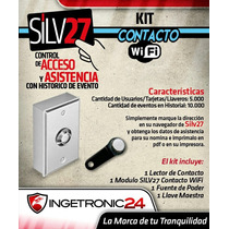 Control De Asistencia Silv27 Wifi Llave De Contacto Cam 4010