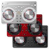 Controlador Dj Pioneer Ddj Wego 3 Serato Blanco Rojo Negro
