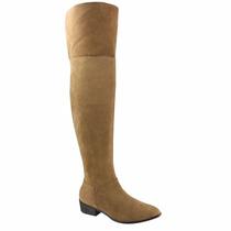 Bota Over Knee Feminina Via Marte 16-507 Frete Grátis