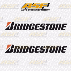 Sticker Calcomania Vinil - Logo Bridgestone
