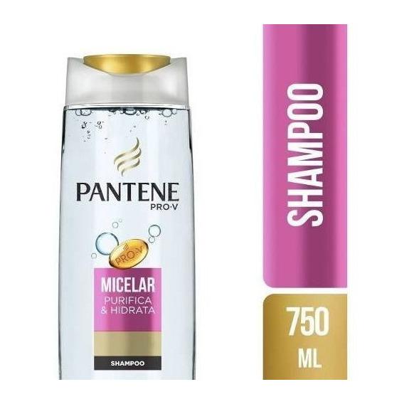 Shampoo Pantene Agua Micelar 750 Ml