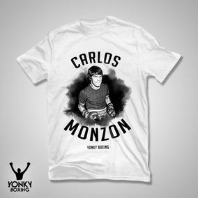 Remera Boxeo Carlos Monzon Algodon
