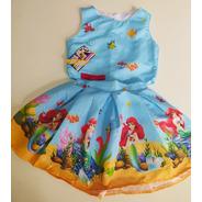 Conjunto Infantil Temático Super Luxo Sereia Princesa Ariel