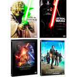 Star Wars Paquete Saga Completa Episodio 1 - 7 Rogue One Dvd