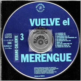 Vuelve El Merengue - Verano Caliente Vol.3 ( **sin Tapa** )