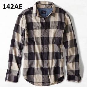 Xs - Camisa American Eagle C142ae Ropa Hombre 100% Original