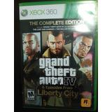 Juego Xbox 360 Gta Iv Liberty City