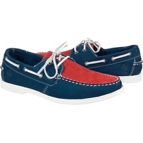 Sapato Masculino Dockside Mocassim Shoes Grand Pé Grande