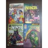 Lote Com 4 Edições Ninja Super Powers Arqueiro Verde