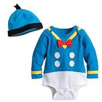Disney Store Pato Donald Onesie Halloween Costume Mono / Som