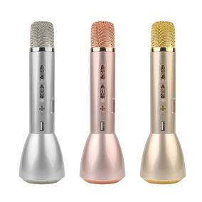 Microfone K088 Karaokê Alto Falante Bluetooth Portátil Cl45