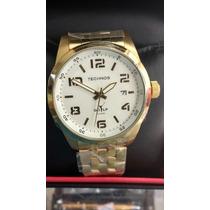 Relógio Technos Original Folheado Garantia De 1 Ano E Nf