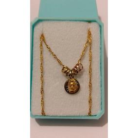 Medalla Virgen De Guadalupe De Oro Con Semanario