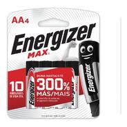 Pilas Energizer Doble Aa X4 Max Original