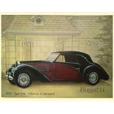 Quadro - Osm - Bugatti Type 57s Stelvio 1937 - 110 X 160