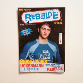 Revista Rebelde Max Pôster Christopher Uckermann Nº03