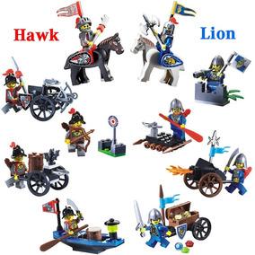 Caballeros, Soldados, Edad Media, Guerra Lego Compatible