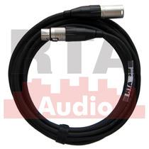 Cabo Xlr Balanceado 5m Top Microfone Conectores Amphenol Asx