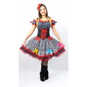 Vestido De Festa Junina Adulto P