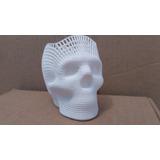 Portalapices De Cráneo (calavera), 8 Cm De Alto