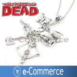 Collar The Walking Dead 7 Dijes Daryl Rick Glenn Twd Serie