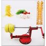 Super Maquina De Cortar Batatas Legumes Espiral Chips Novo