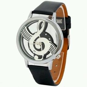 Reloj Clave De Sol Unisex Analogo (negro)