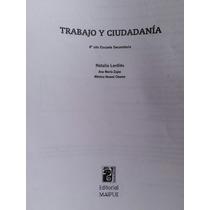 Trabajo Y Ciudadanía De Natalia Lardiés