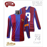 Eterno Cruyff! Camiseta Rettro Barcelona 1973 Johan Cruyff!