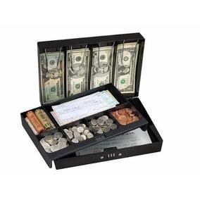 Caja Efectivo Billetes Fuerte Portable Combina *envío Gratis