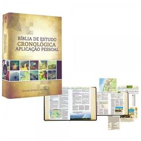 Biblia De Estudo Cronologica Aplicaçao Pessoal