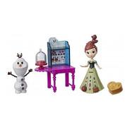 Muñeca Frozen Anna Y Elsa Valija Disney B5191 Hasbro Full