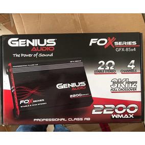 Amplificador Potencia Genius 2200watts 4 Canales Oferta Liqu