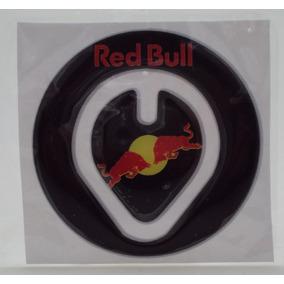 Protetor De Tampa Gasolina Red Bull Moto Resinado *adesivo