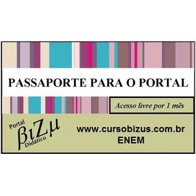 Passaporte De Acesso Ao Portal Bizu Didático