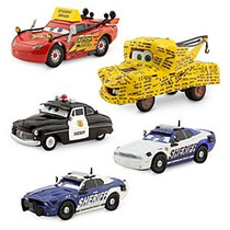 Cars Protect & Serve Sheriff Student Mcqueen Mike Didi Mater