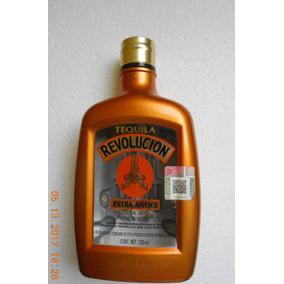Botella Vacia Tequila Revolucion Extra Añejo 700 Ml.