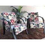 Kit 2 Poltronas Decorativas Cadeira Sala,escritorio E Quarto