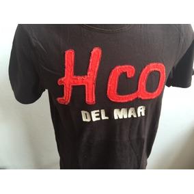 Hollister Camiseta Tamanho M Masculina Marrom