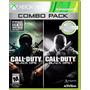 Call Of Duty Black Ops 1 & 2 Combo Xbox 360 Nuevo Y Sellado