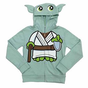 Disney Star Wars Yoda Disfraz Hoodie Niñas 4-16 (l (10/12))