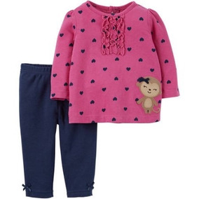 Conjunto Pantalón Blusa Carters Recien Nacido Envio Gratis
