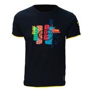 Camiseta Valentino Rossi Precisport Sol Colors Preta