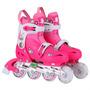 Roller Rosa Casco Proteccion Aluminio Extensible 30-33 34-37